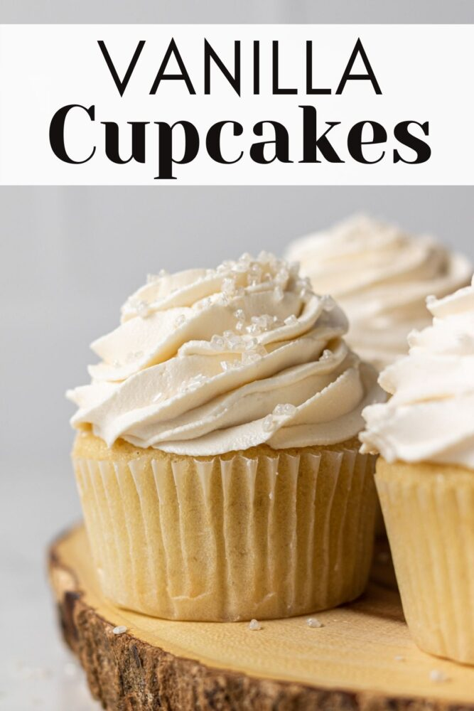 dairy free cupcakes pin for pinterest
