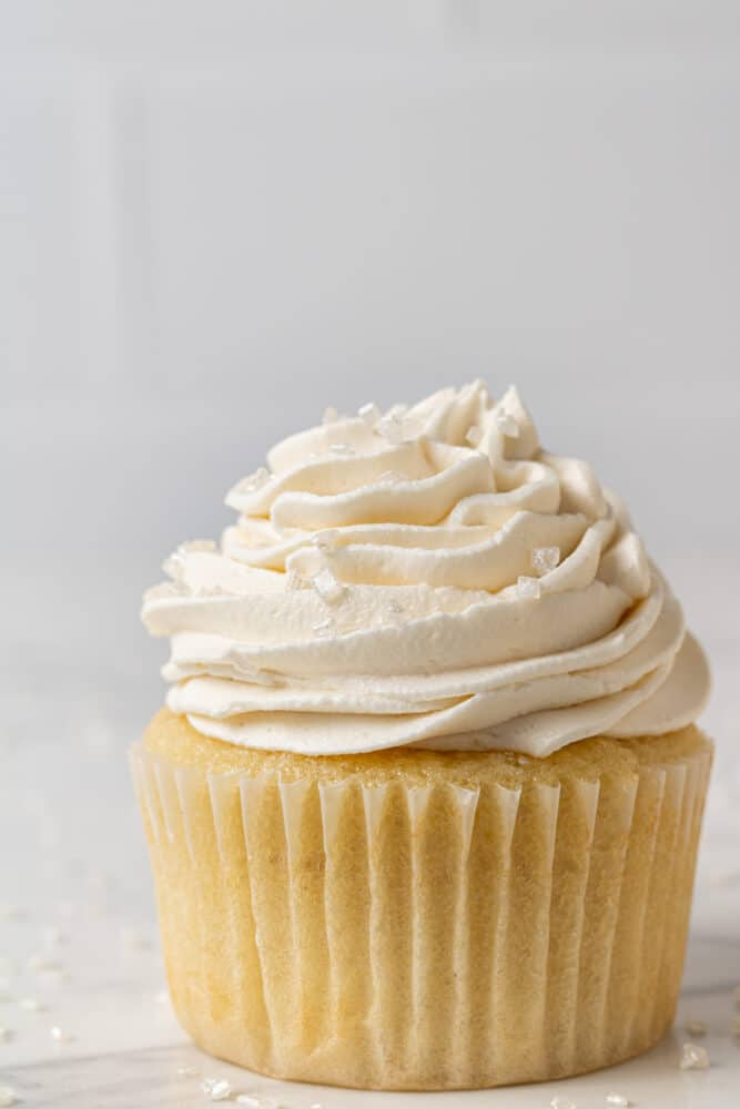 dairy free cupcakes with vanilla buttercream