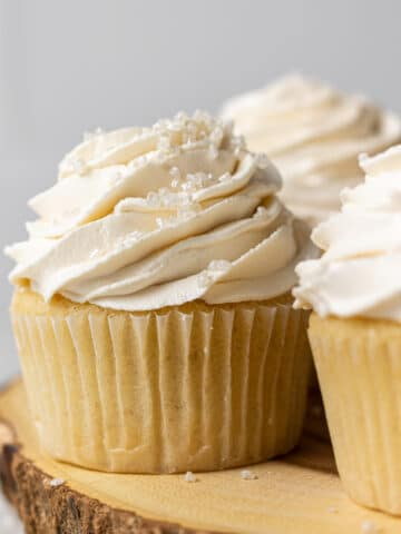 dairy free cupcakes with frosting
