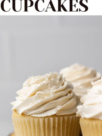 dairy free cupcakes web story cover