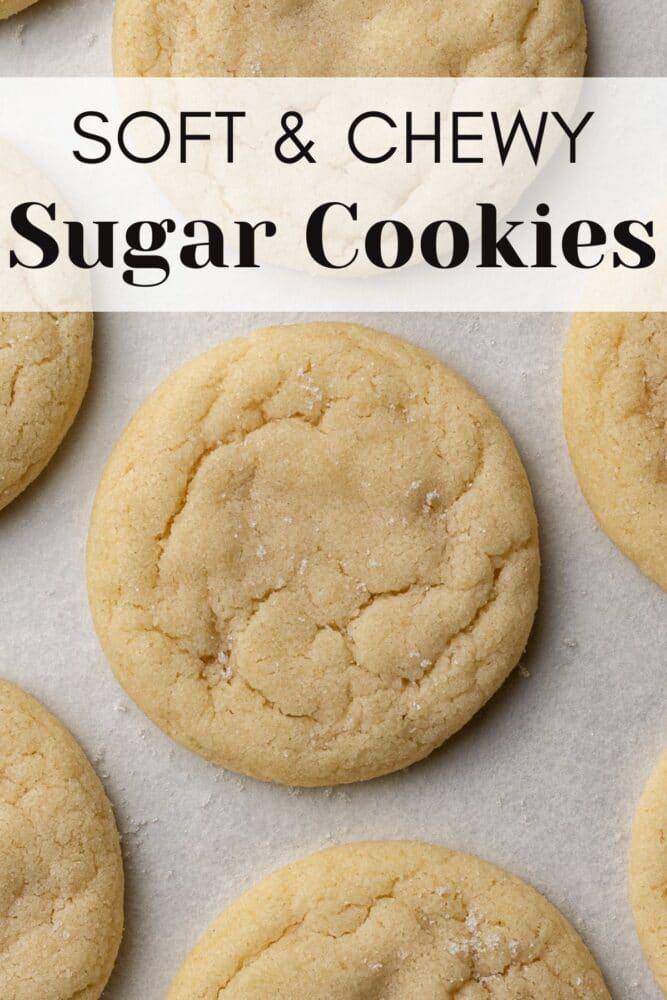 sugar cookies pinterest pin